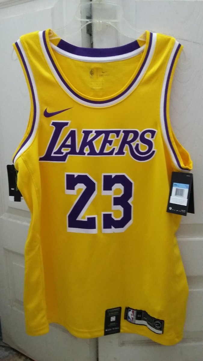 reputable site 95b08 9cdc9 Jersey Nike Nba Lebron James Swingman Lakers Talla M (44)