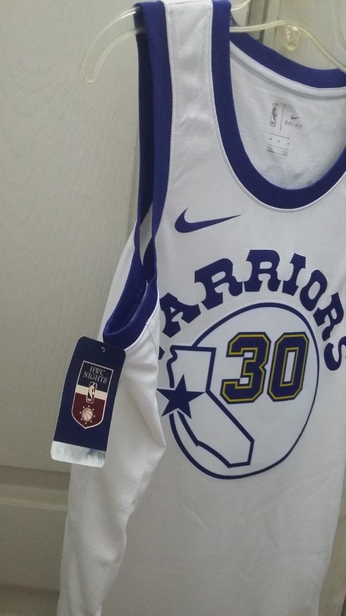 half off 0aaee 60f2f Jersey Nike Nba Stephen Curry Classic Edition Talla L (48)