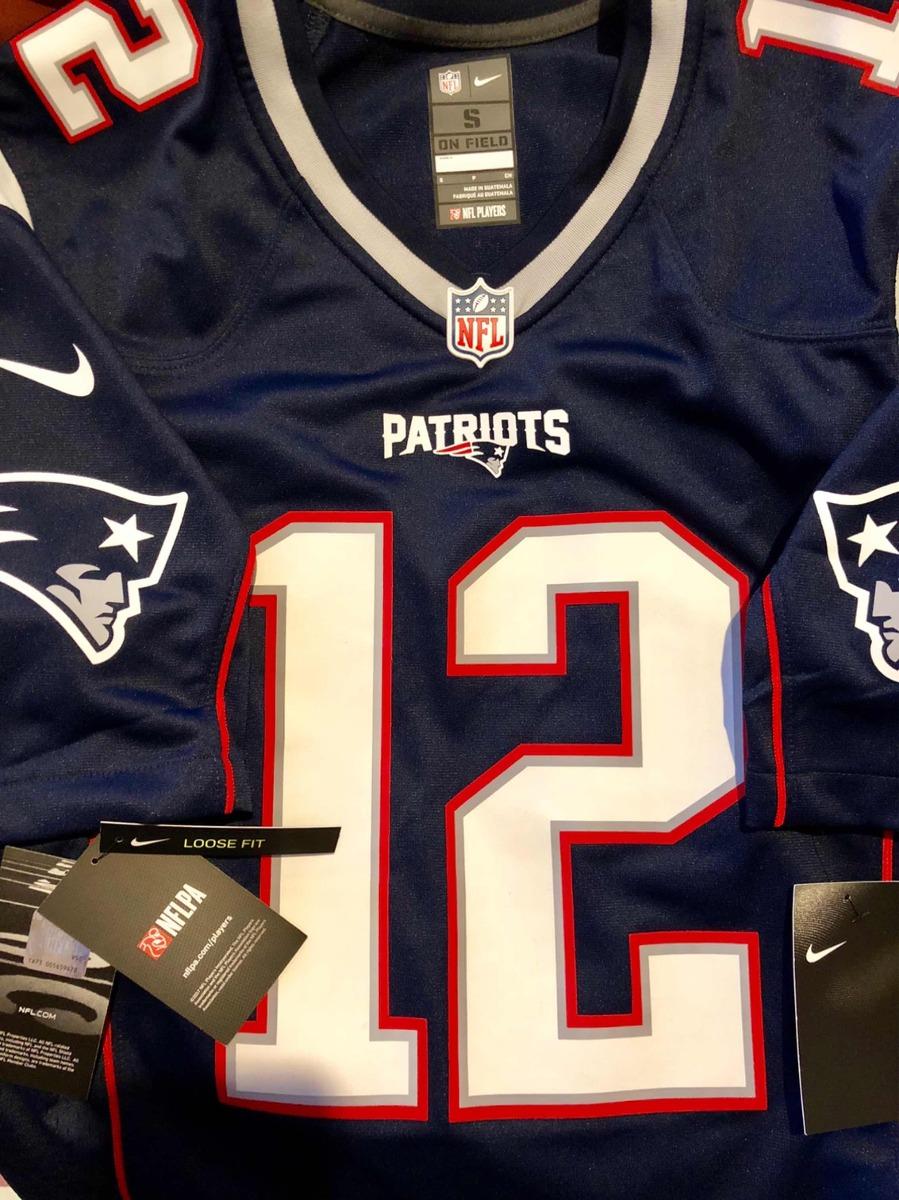 huge selection of 83ecf f5899 Jersey Nike New England Patriots Nfl Brady 12 S Envgratis