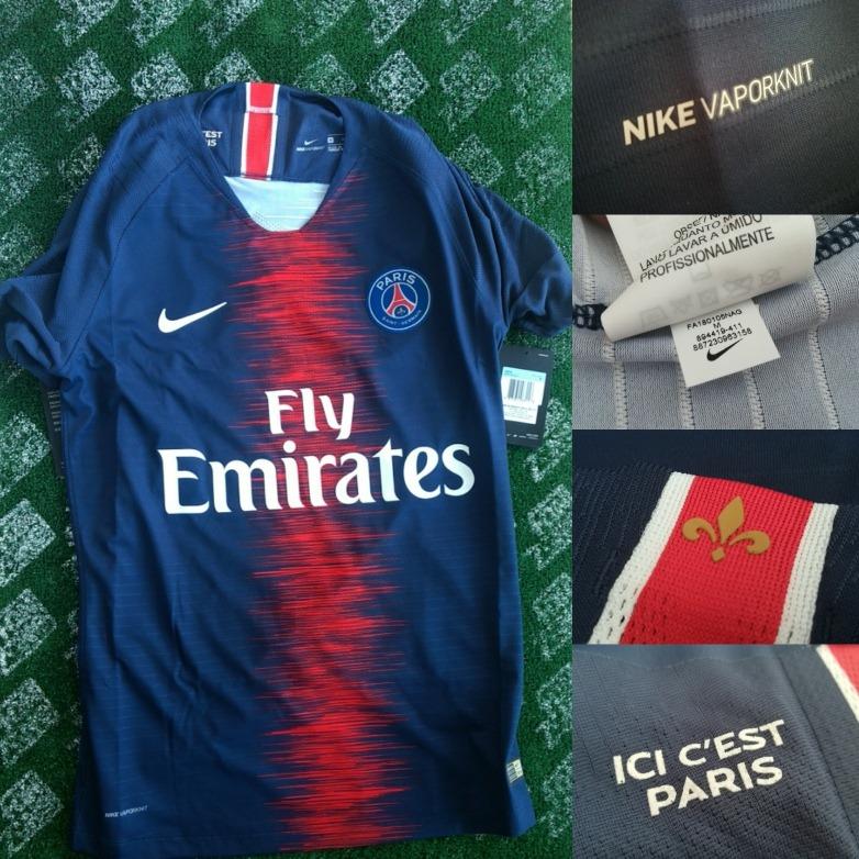best cheap 7141b 85ddb Jersey Nike Psg Vapor Match Jugador Original Mbappe Neymar