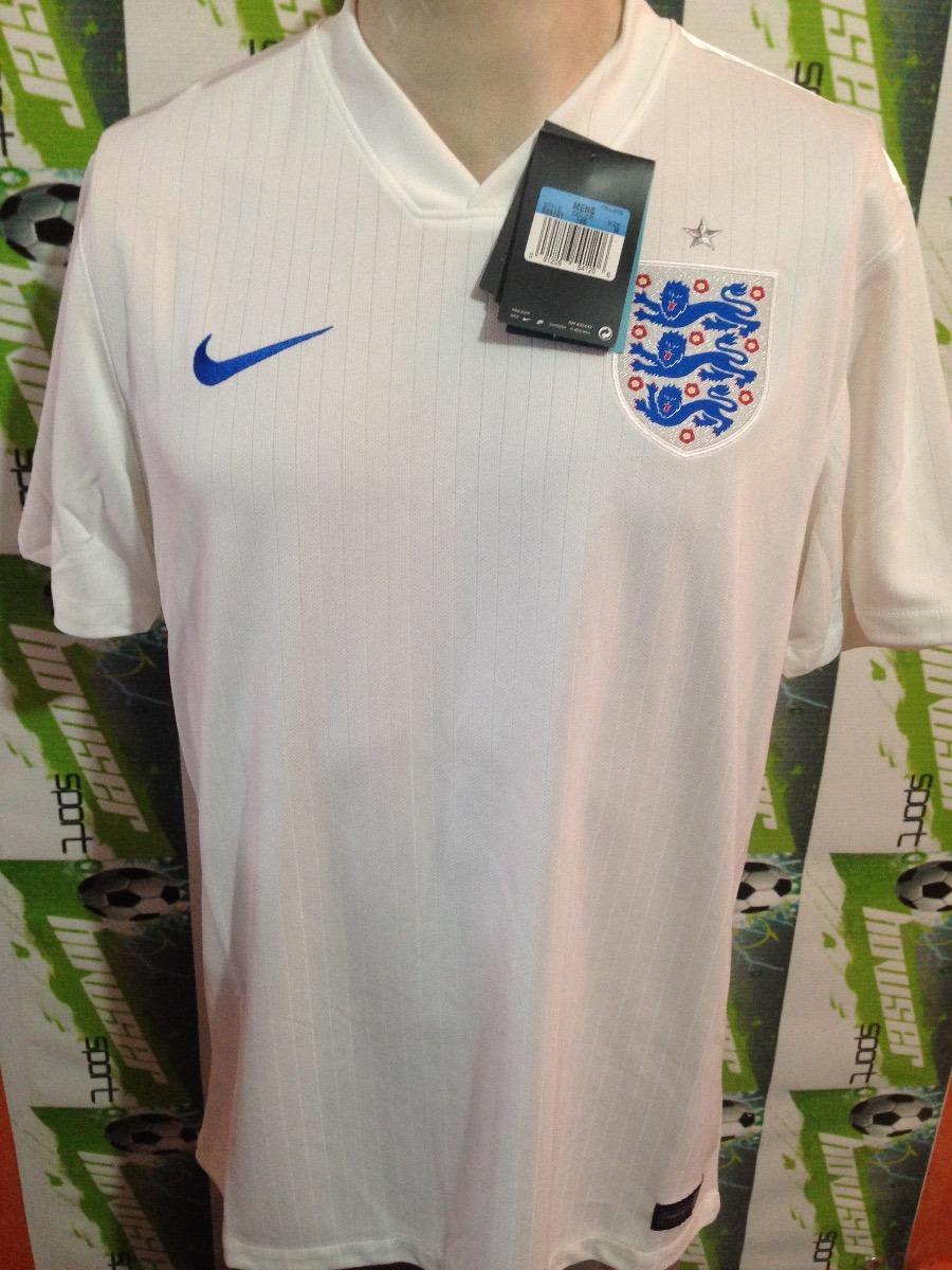 Jersey Nike Seleccion Inglaterra 100%original Oferta Blanca ... 015ce076a67ef