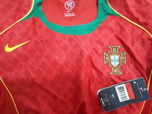 jersey nike selección portugal local eurocopa 2004 de época