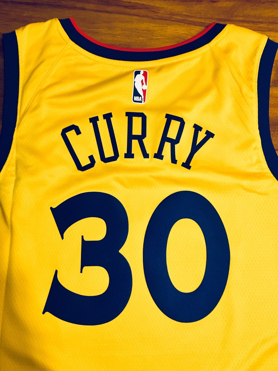 wholesale dealer 8ceb4 74494 Jersey Nike Stephen Curry City Edition Warriors the Bay