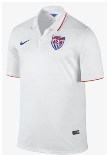 jersey nike usa mundial 2014 estados unidos c/num original