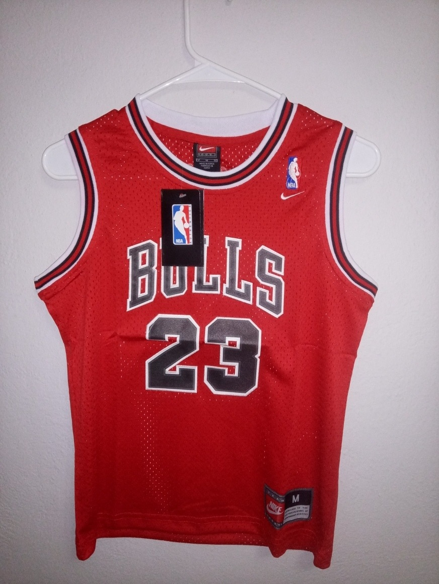 big sale 3e8b0 cb362 Jersey Niño Michael Jordan 23 Chicago Bulls Nba Nike