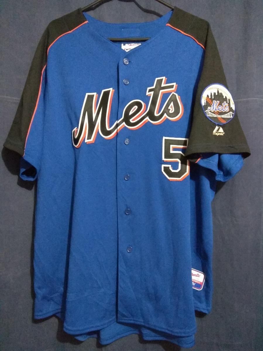 buy popular b13af 249ef Jersey Ny Mets Talla Xl David Wright - $ 850.00