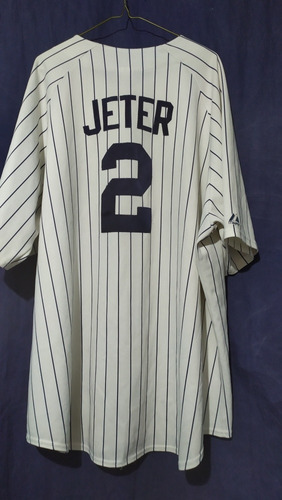 more photos aa3a1 a7323 Jersey Ny Yankees Xxl Derek Jeter No Boston Redsox Dodgers - $ 900.00