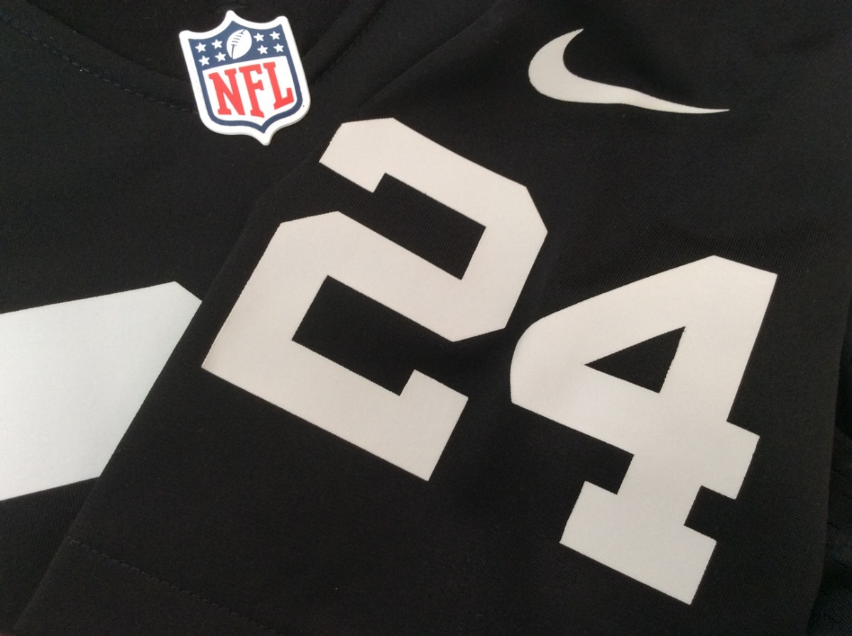 jersey oakland raiders  24 lynch color negro nike nfl 2018. Cargando zoom. 0eaa0a6be52