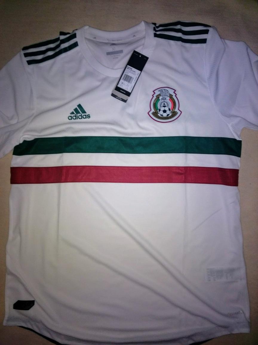 best sneakers f2f42 67aca Jersey Oficial adidas Mexico Authentic Visita Talla Xl