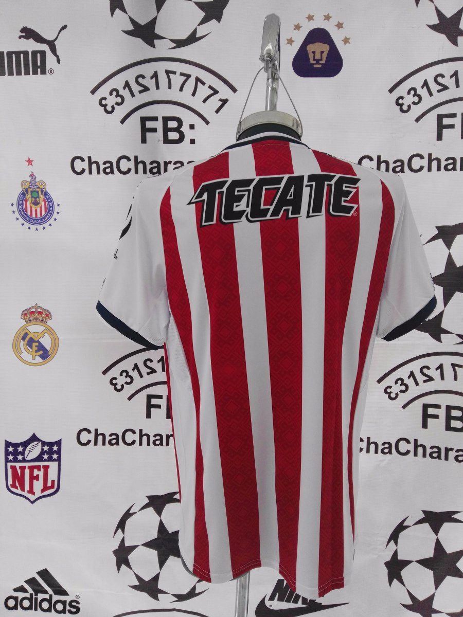 3f466822c jersey oficial chivas guadalajara 2017-2018 12 estrellas 2xl. Cargando zoom.