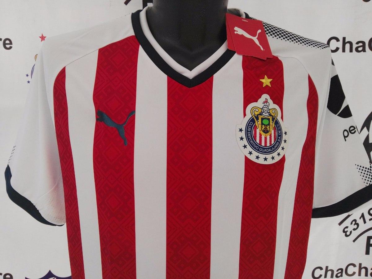 jersey oficial chivas guadalajara 2017-2018 con 12 estrellas. Cargando zoom. 006afc4ca480