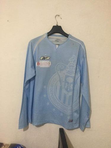 jersey original chivas azul portero reebok 2005 talla l