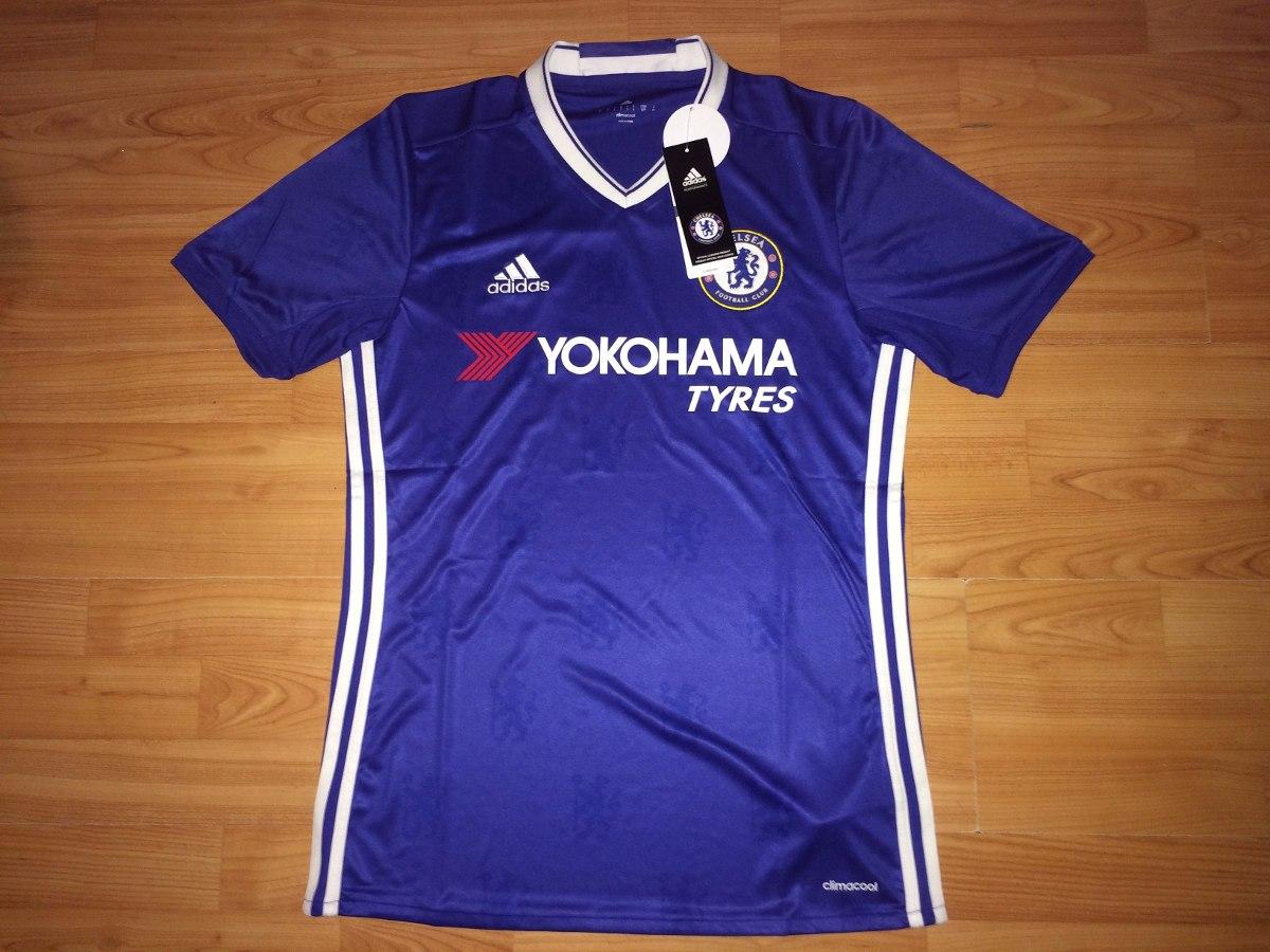 Jersey Original Club Chelsea Inglaterra adidas -   550.00 en Mercado ... 2fd2984fa949a