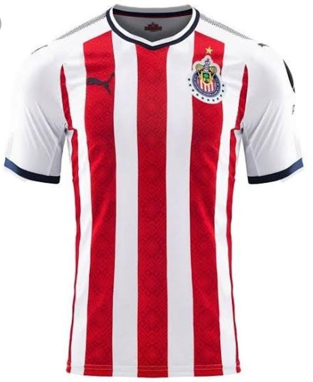 the latest 7f2a4 9f3ab Jersey Original De Las Chivas 17-18