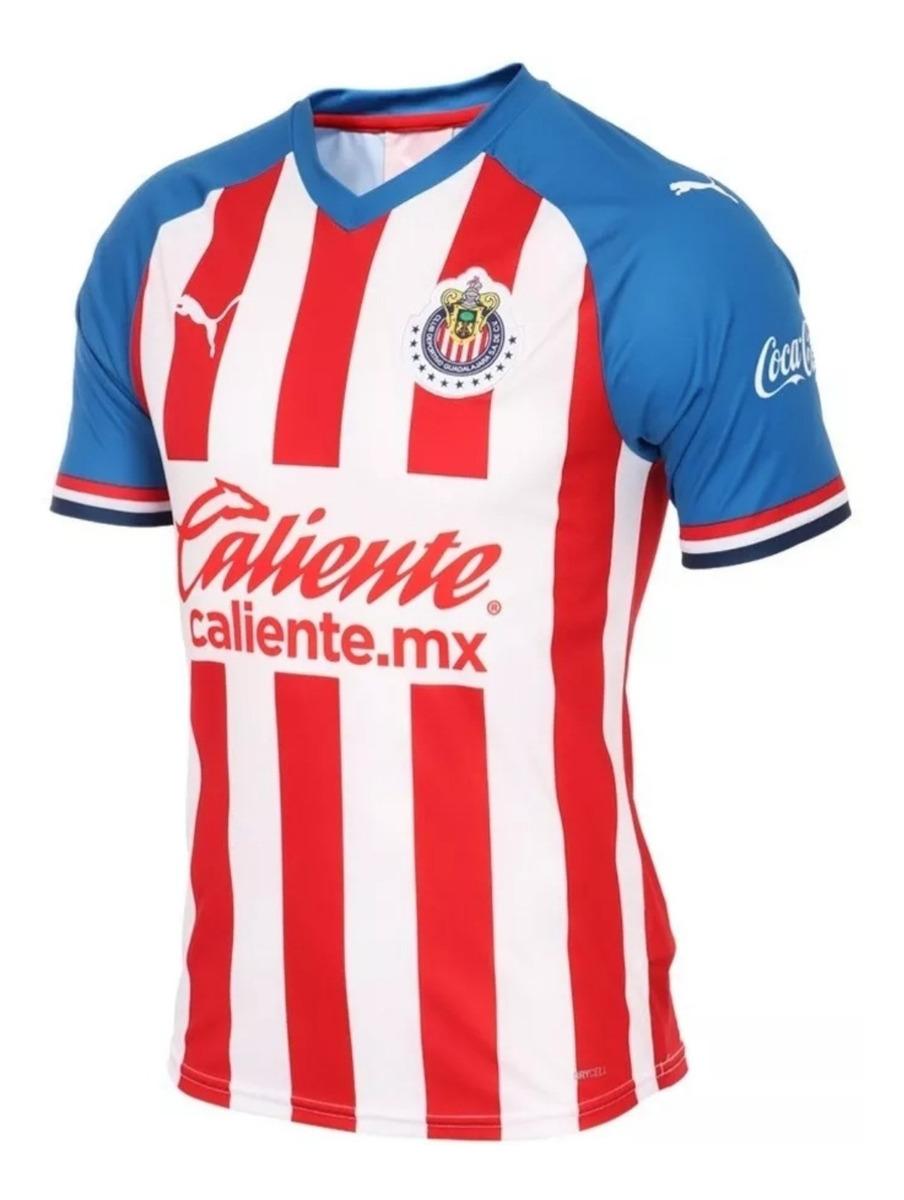 premium selection 4d973 a3833 Jersey Original De Las Chivas 2020