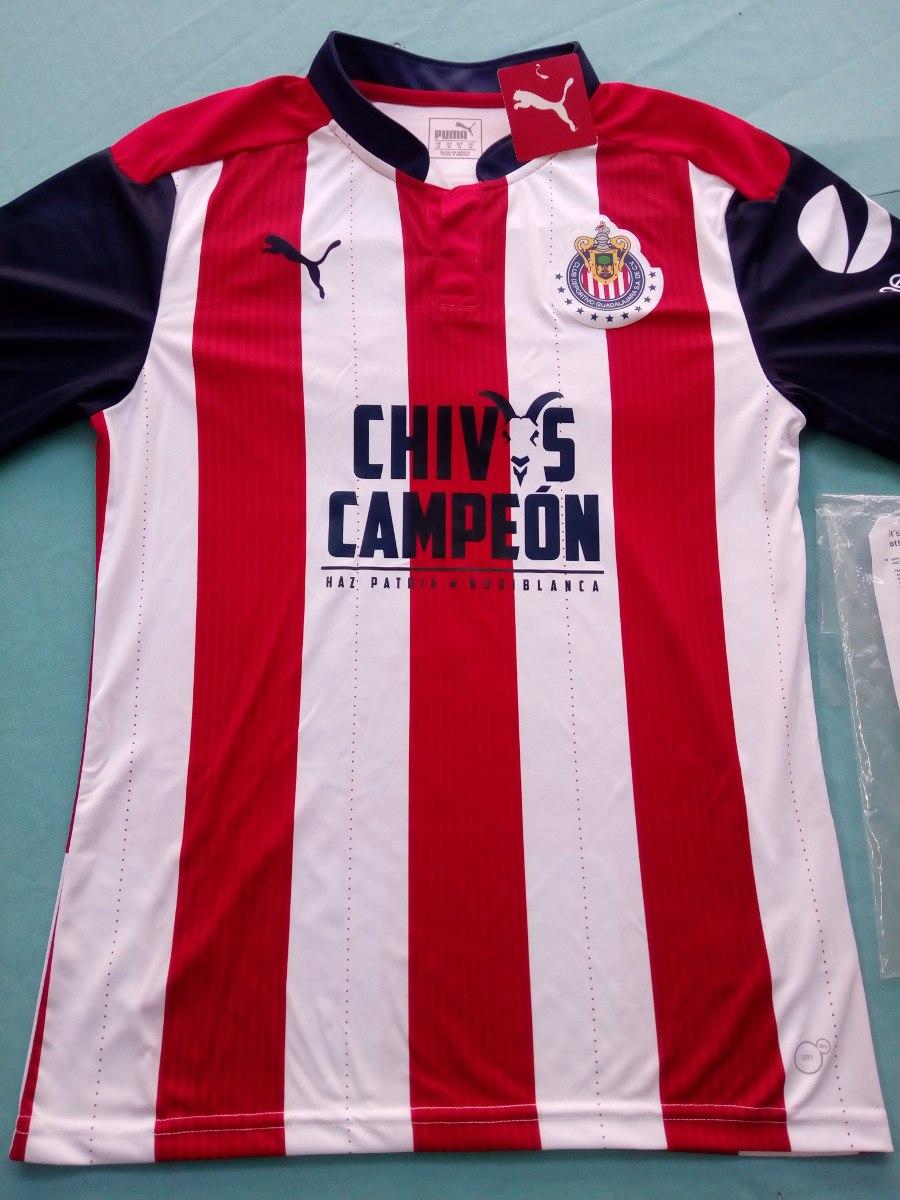 new style b5699 16833 Jersey Original Festejo Chivas Campeon 2017 Con Numero 12