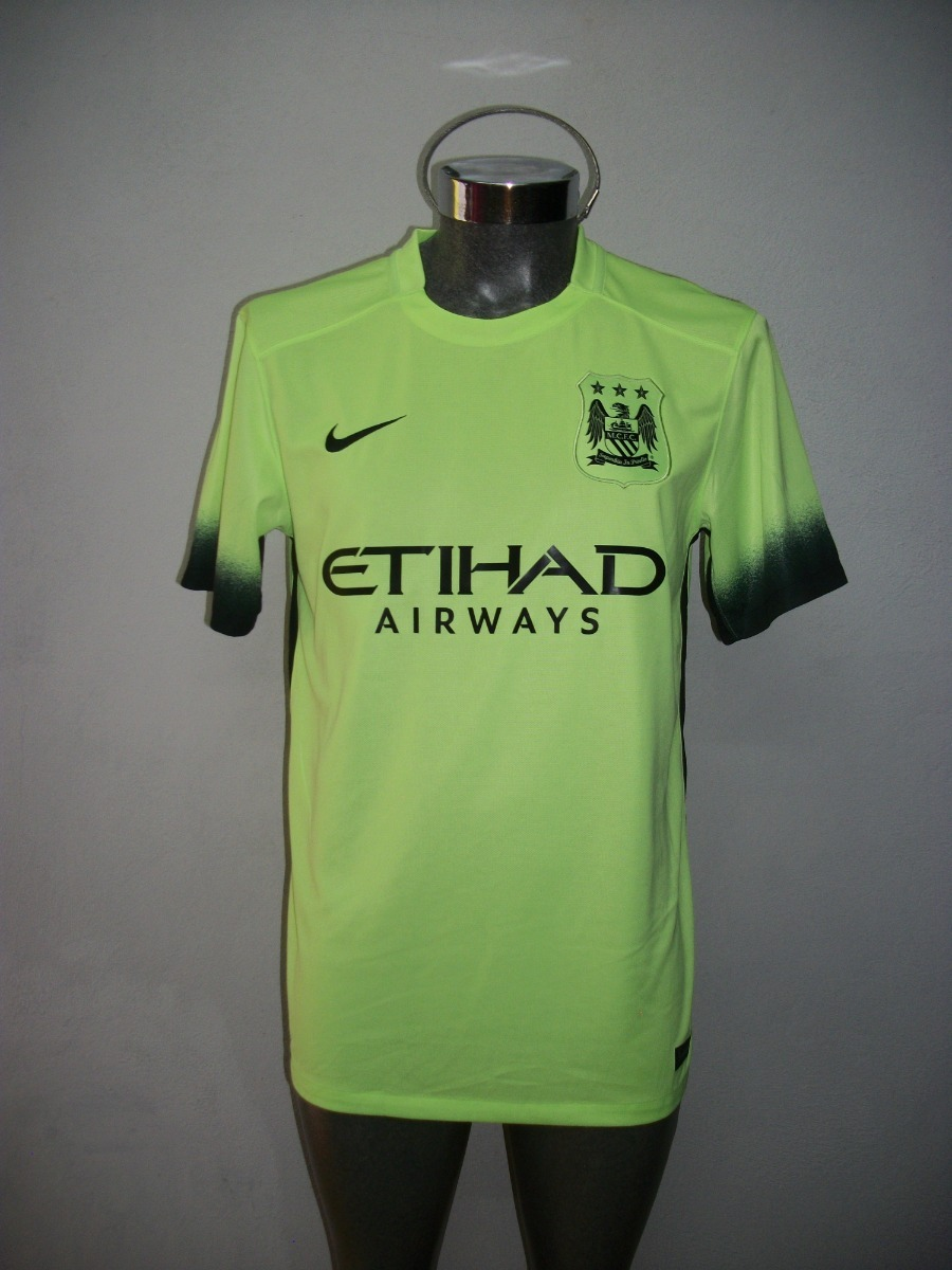 official photos df9d3 097dd Jersey Original Nike Manchester City Visita 2015-2016