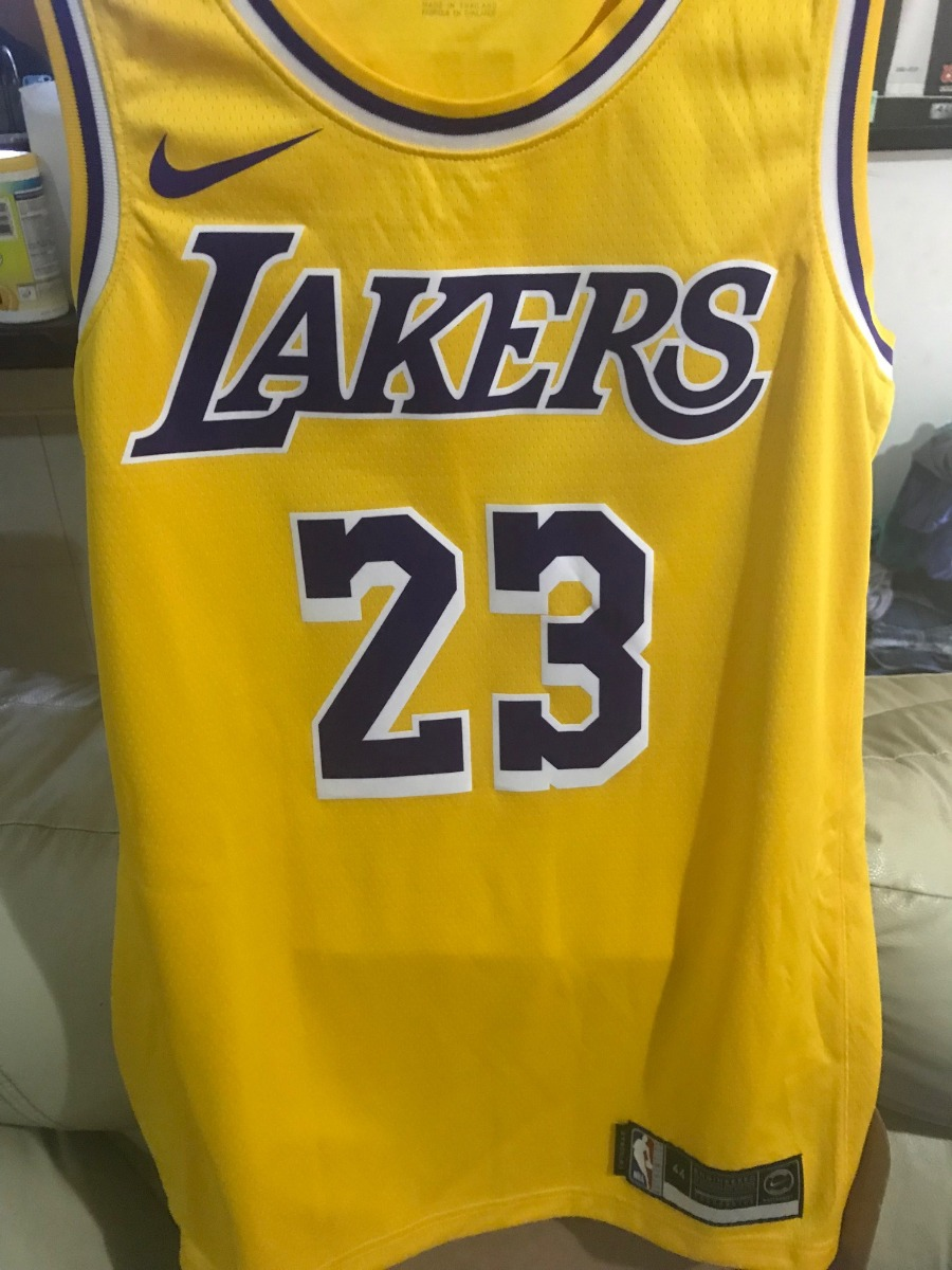 sneakers for cheap fa0b2 dae88 Jersey Original Nike Talla M De Los Lakers 2019 Lebron James