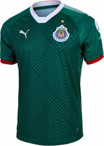 84ad47da775 Jersey Original Puma Chivas Gala 3era Verde 2017-2018