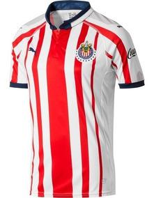 online retailer c1321 c01d6 Jersey Original Puma Chivas Guadalajara Local 2018-2019