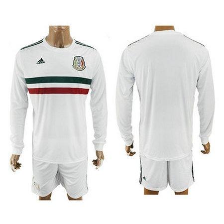 Jersey Original Selección Mexicana Blanca Manga Larga. -   790.00 en ... 5b5ac1a37cbe2
