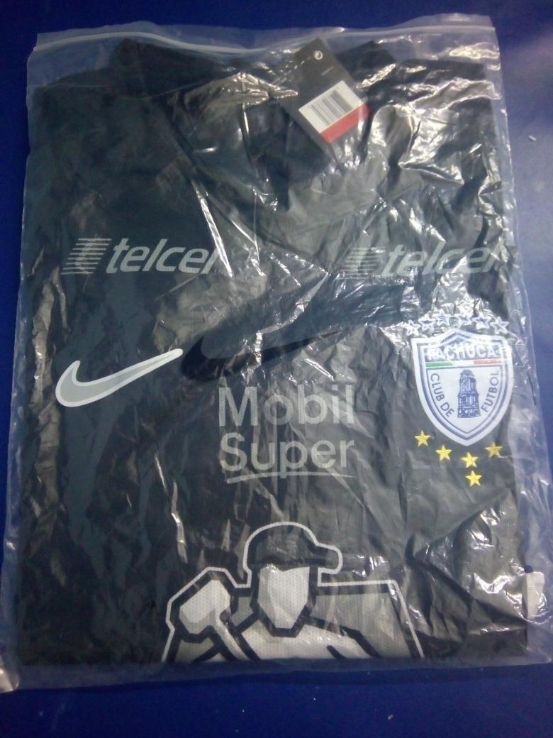 e979bf591 Jersey Pachuca Negro Nike -   499.00 en Mercado Libre