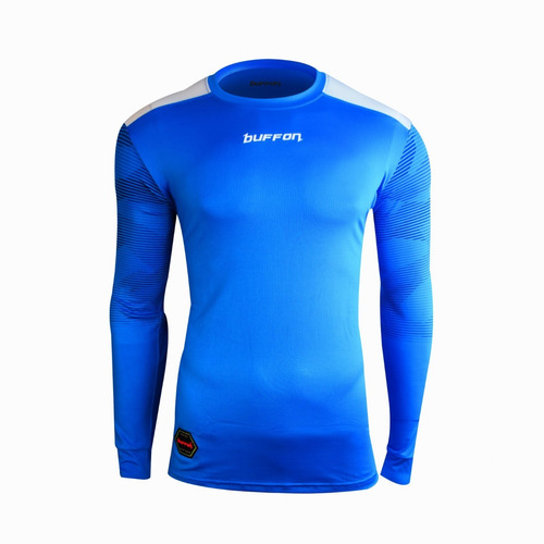 jersey para portero de manga larga con protecciones modelo buffon napoli - envio gratis - mundo arquero