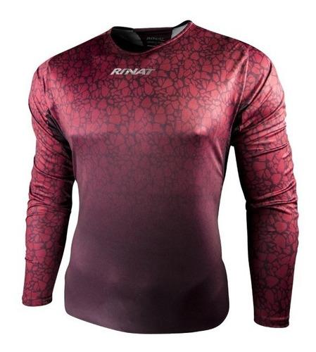 jersey para portero de manga larga con protecciones modelo rinat celsius 2019 - envio gratis - mundo arquero