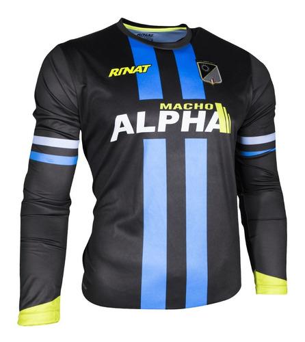 jersey para portero modelo rinat alpha 2020 - mundo arquero