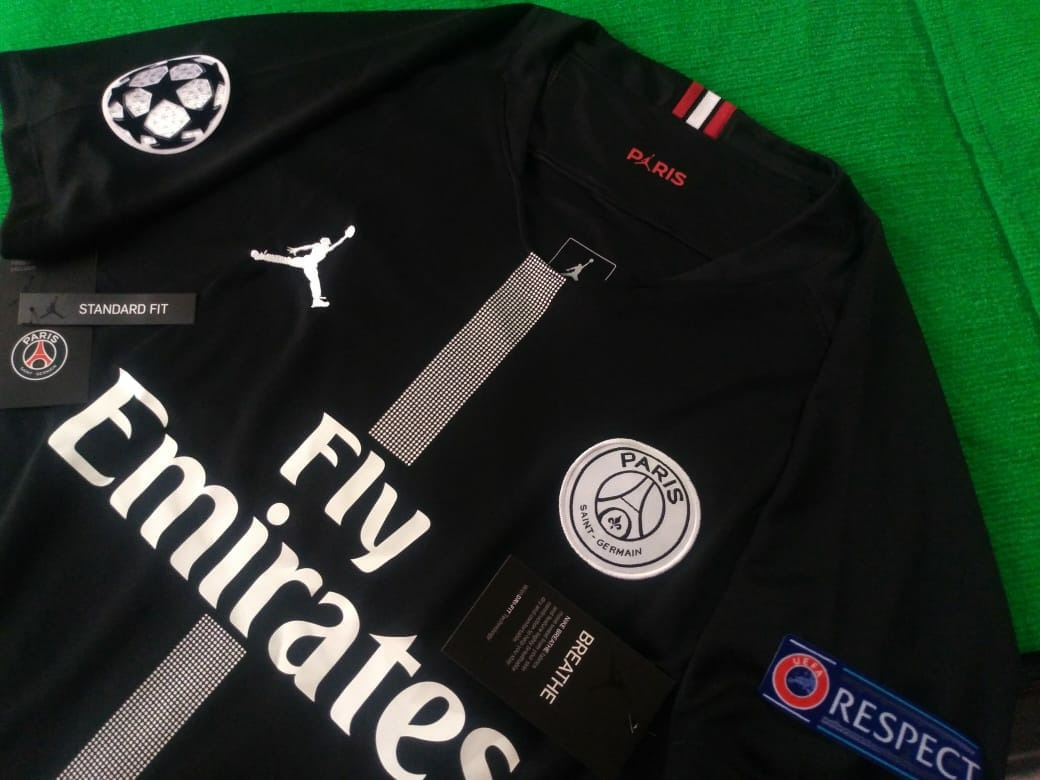 new products 191a4 31fbb Jersey Paris Jordan Psg Mbappe 7 Version Champions