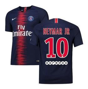 check out 60e9b dd670 Jersey Paris Neymar Jr 10 Local Azul Francia Psg