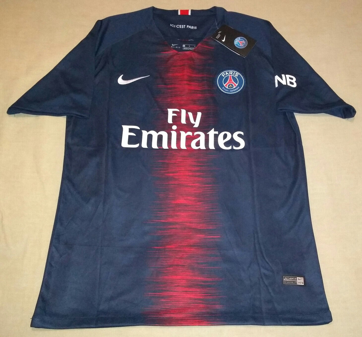newest 0aad6 93ca1 Jersey Paris Saint Germain Psg De Kylian Mbappe Grande Franc