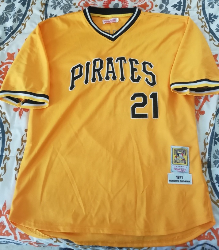 finest selection f6ab8 d331d Jersey Pittsburgh Pirates, Mitchell & Ness, #21 Clemente Xl