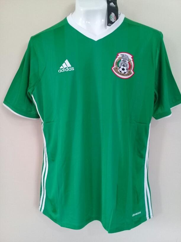 c08b9181a58cc Jersey Playera adidas Mexico 2016 -   396.00 en Mercado Libre