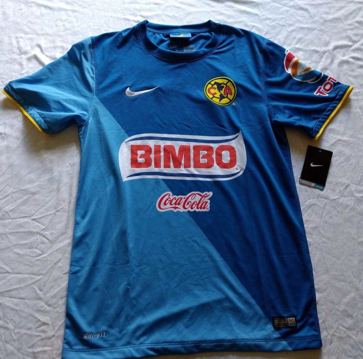 5d1a14e3ca20d Jersey Playera Aguilas De America Nike 2014 3ra Talla Ch -   989.00 ...