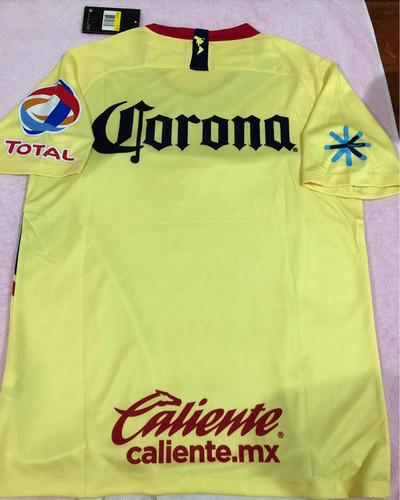 jersey playera america 2018 - 2019 amarilla nueva