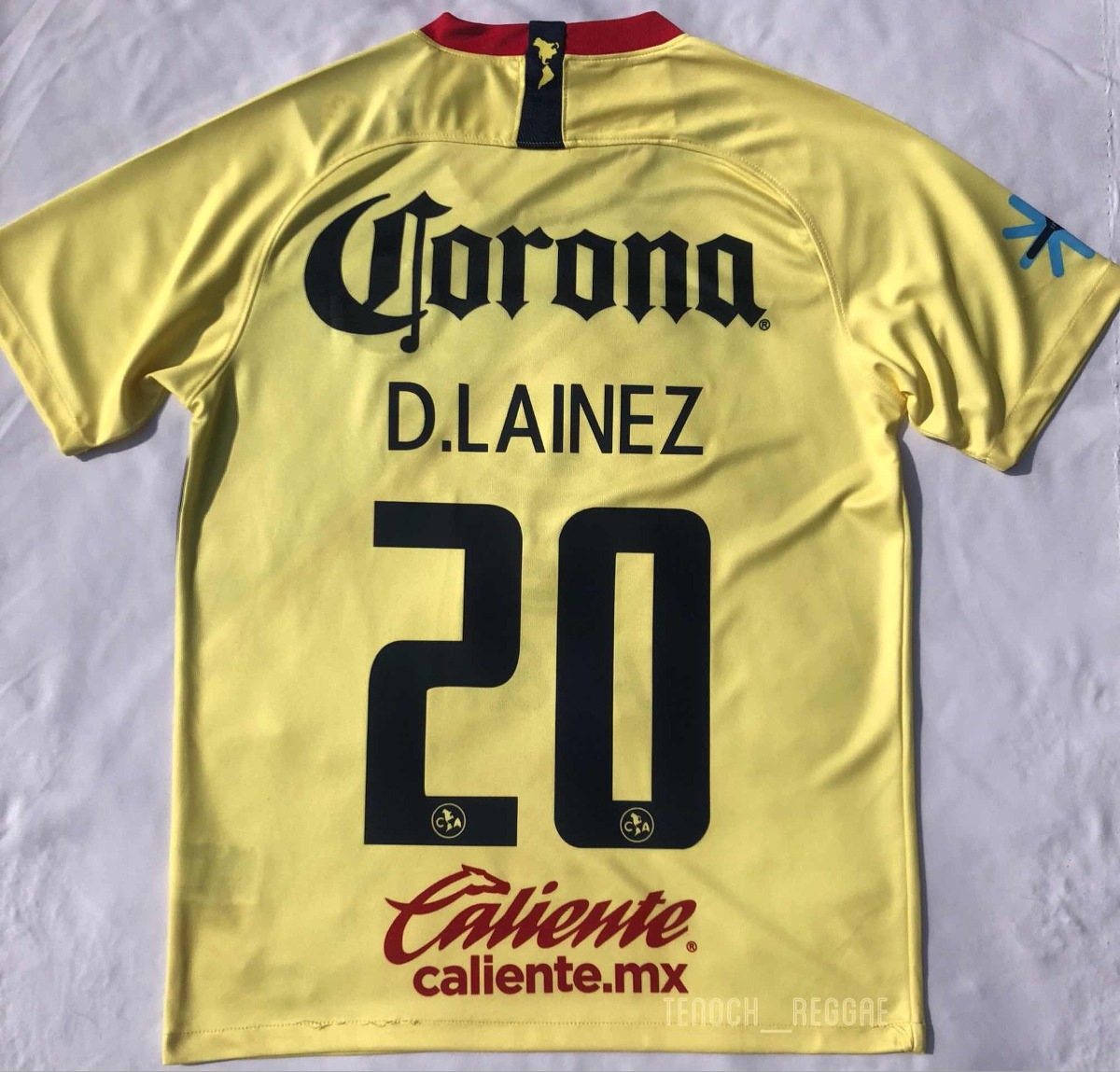 Jersey Playera America Local 2018-2019 D. Lainez -   649.00 en ... 374efc0860f49
