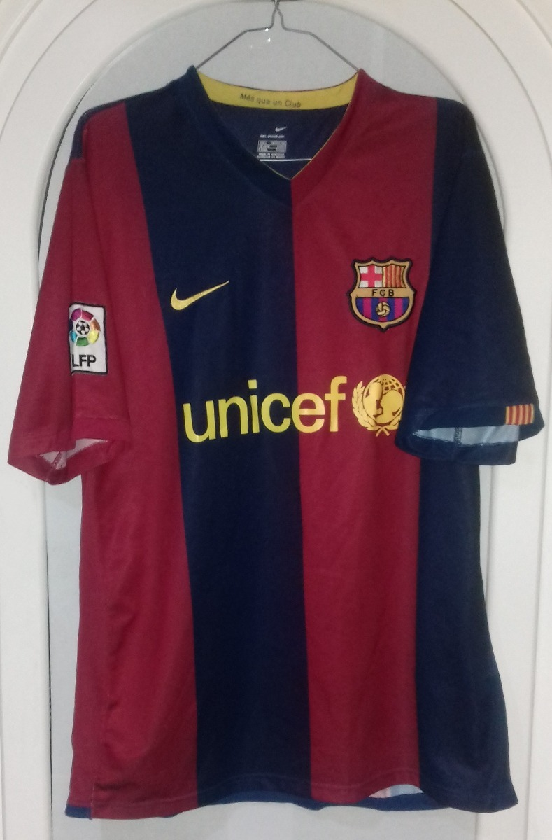 Jersey Playera Barcelona 2006 2007 Ronaldinho Grande -   1 c00f7b89579