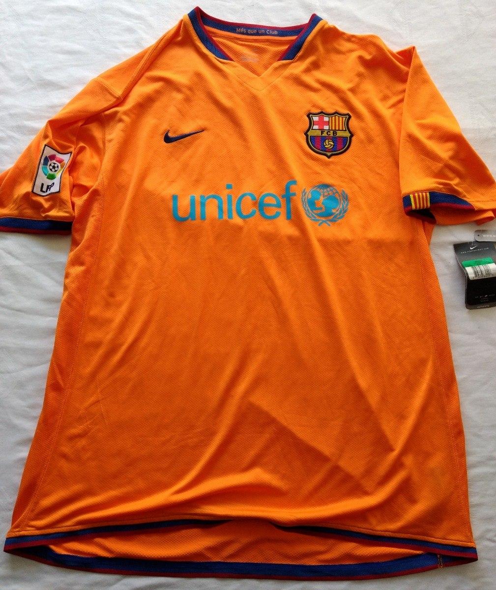 jersey playera barcelona barca nike naranja talla xl 2005. Cargando zoom. 3a890a64b73