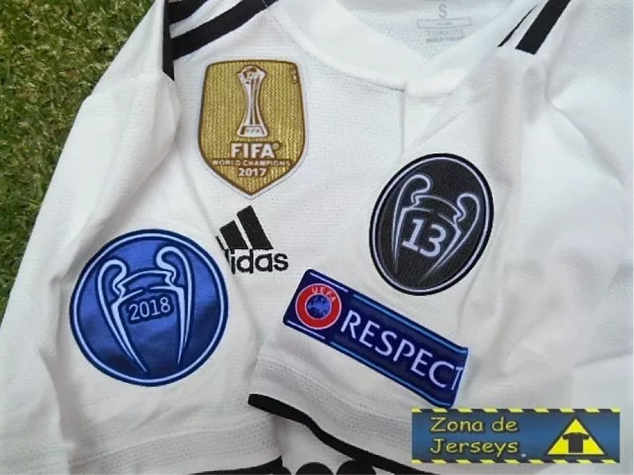 jersey playera blanca del real madrid champions 2018 2019. Cargando zoom. 8d7ef196370c9