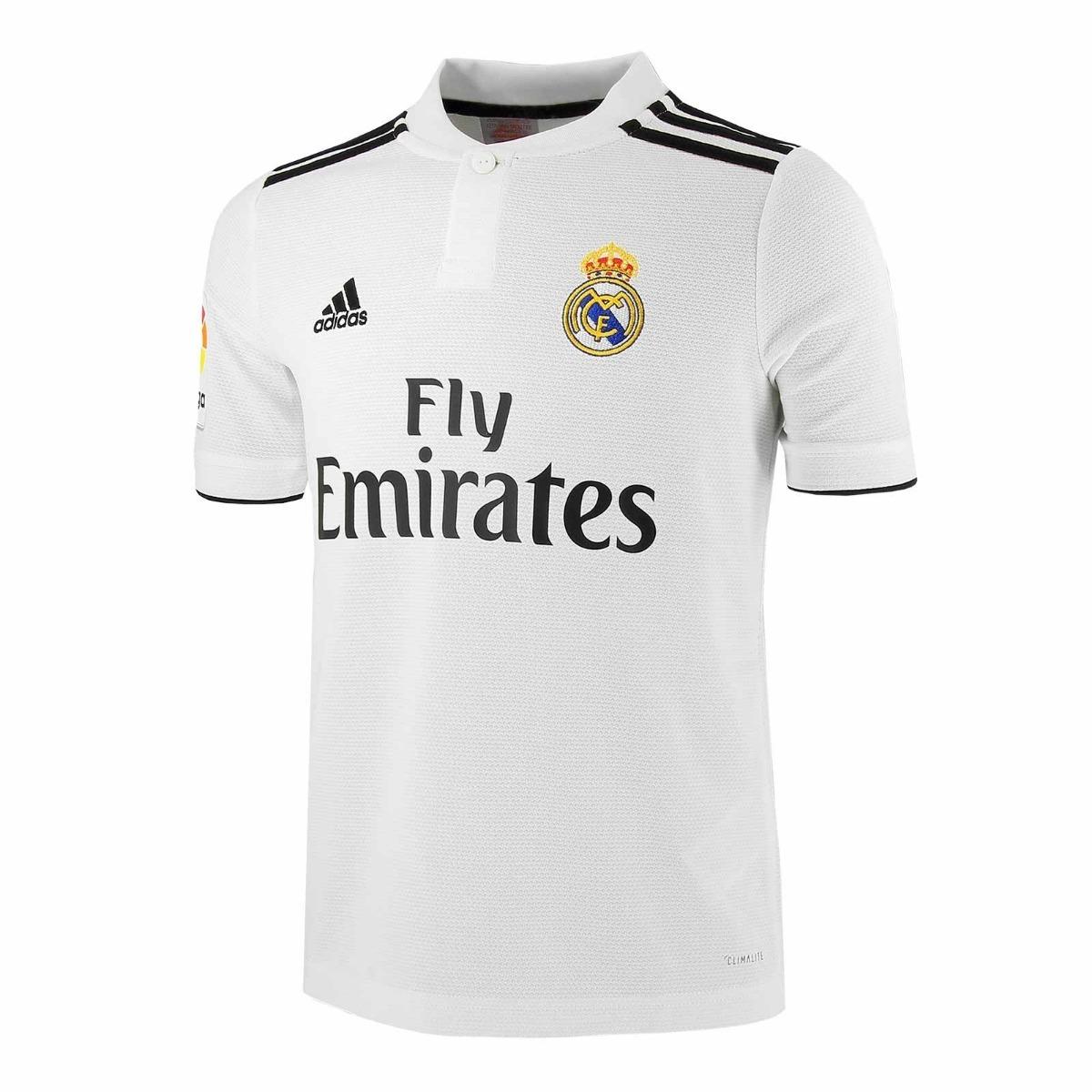 7f33e619ad874 jersey playera blanca del real madrid champions 2018 2019. Cargando zoom.