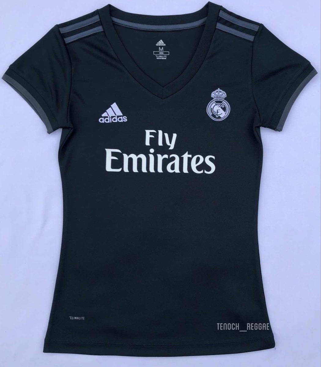 986f9e354fba0 ... Clubes Españoles · Real Madrid. Compartir. Compartir. Vender uno igual. jersey  playera blusa real madrid visita dama 2018-2019. Cargando zoom.