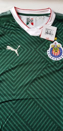 jersey playera chivas guadalajara verde 3er uni envío gratis