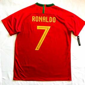 brand new a3bbd 101ec Jersey Playera Cristiano Ronaldo Portugal 2018 Local