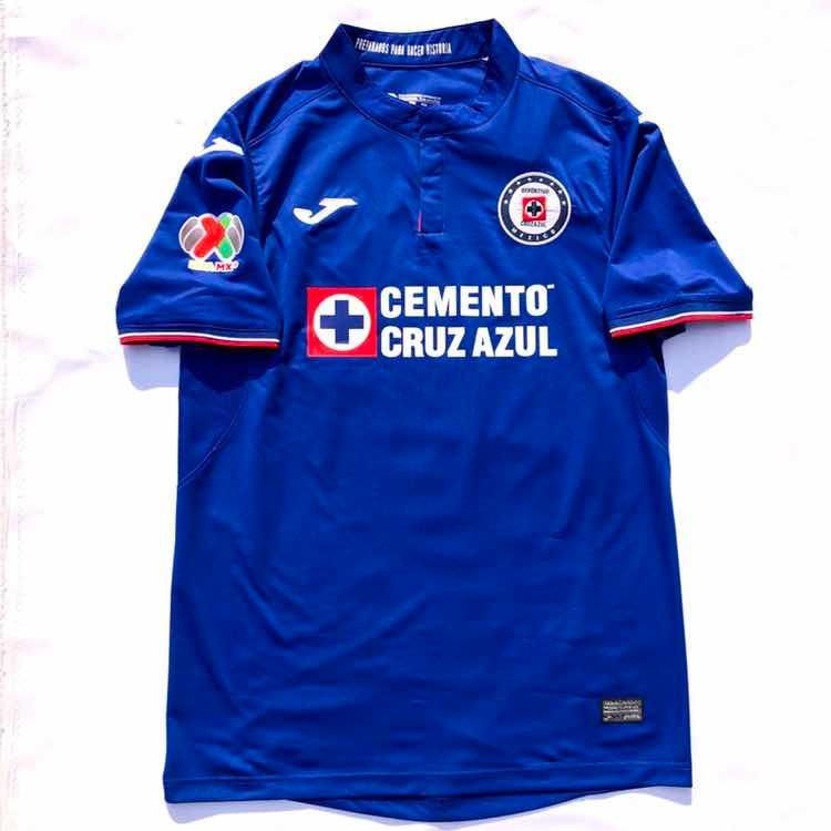 f120685f2 Jersey Playera Cruz Azul 2018-2019 Con Parche Liga Mx -   599.00 en ...