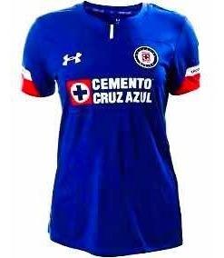 Jersey Playera Cruz Azul Dama Local 2018-2019 Envió Gratis ...