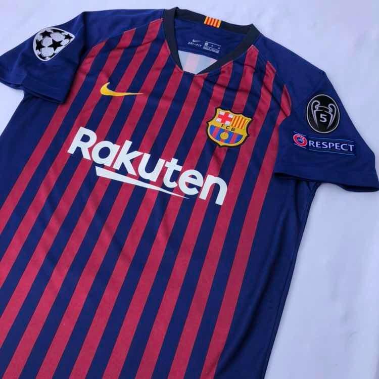 free shipping bf986 229a3 Jersey Playera Fc Barcelona Champions League 2018-2019