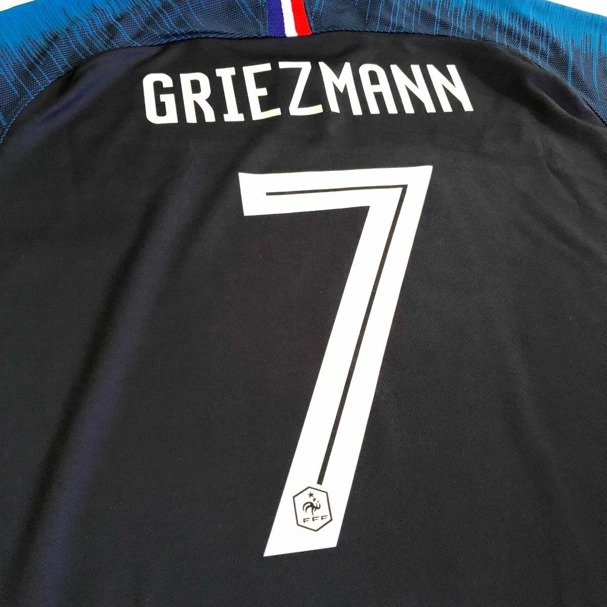 jersey playera francia campeón 2 estrellas 2018 griezmann. Cargando zoom. 04814356958bf