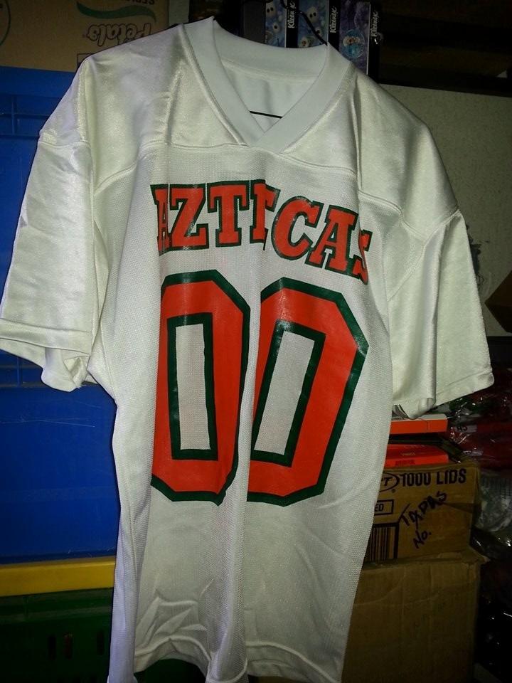 jersey playera futbol americano aztecas de la udla borregos. Cargando zoom. 77c63bbc15e