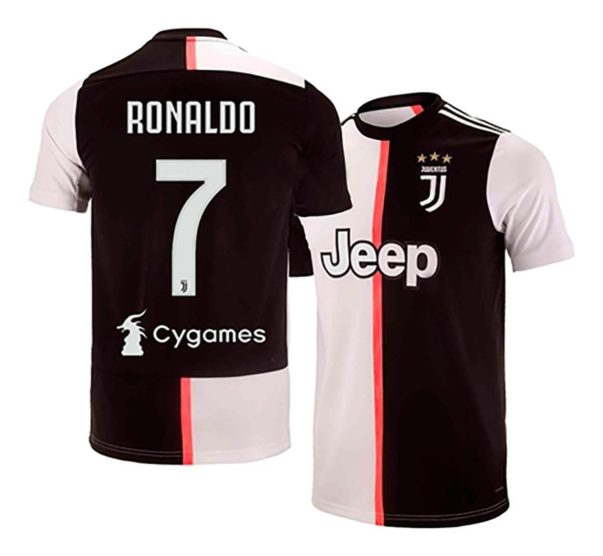 wholesale dealer bad5f ed076 Jersey Playera Juventus Local 2020. Ronaldo 7 Incluido.